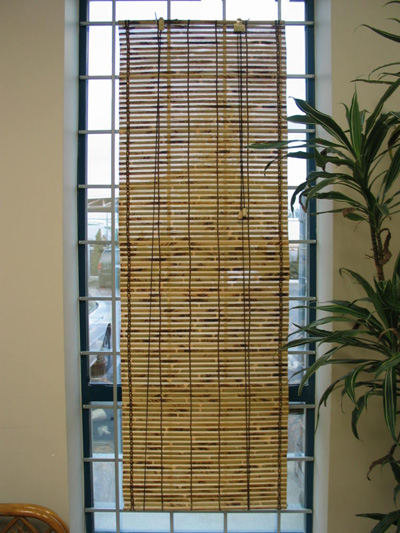 Tropitek Trading Ltd Bamboo Roll Up Blinds